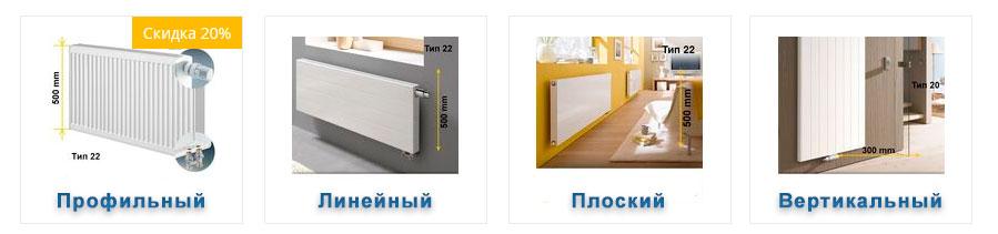 Радиаторы Керми каталог